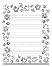 kindergarten lined writing paper these free christmas printables are perfect for kids writing kindergarten