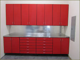 kitchen ikea storage cabinet table accents featured red and white