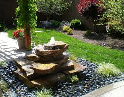 Small Rock Garden Pictures by Fresh Pictures Small Garden Water Features Garden Design