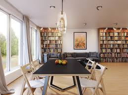 Dining Room Sets With Round Tables Dining Table Having Round Tapered Legs Scandinavian Dining Room