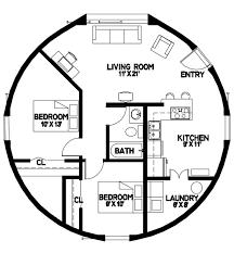 2 Bedroom 1 Bath Floor Plans Plan Number Dl3202 Floor Area 804 Square Feet Diameter 32 U0027 2