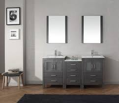 Bathroom Vanity 42 by 54 Inch Bathroom Vanity Contemporary Bathroom Vanities 2 Sink