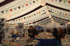 The main tent at the Oxford Literary Festival Daily Info