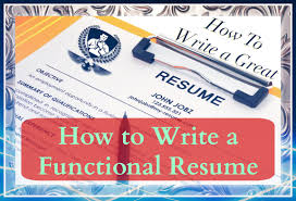 How To Write a Resume  Writing a Functional Resume   YouTube YouTube