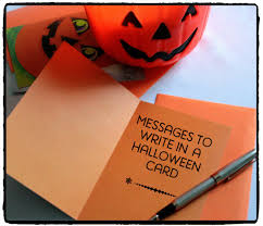 halloween messages jokes and poems to write in a card holidappy