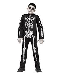 Kids Skeleton Halloween Costumes Skeleton Reaper Kids Costume For Halloween Horror Shop Com