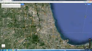 Google Maps Illinois by Chicago Illinois Map