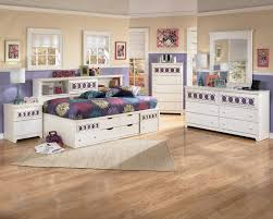 White Bookcase With Drawers by Signature Design By Ashley Zoey Full Storage Daybed Rotmans