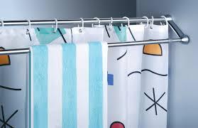 Angled Shower Curtain Rod Bathroom Curtain Bar Brightpulse Us