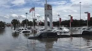 lexus dealership in alexandria louisiana four dealerships got the worst flood damage among auto retailers