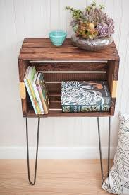Wooden Crate Bookshelf Diy by 25 Best Wood Crate Shelves Ideas On Pinterest Crates Crate