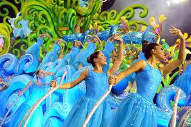 primeira agremiação a entrar na avenida foi a escola de samba ...
