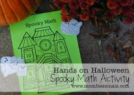 momfessionals hands on halloween letter recognition and math