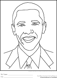 obama coloring page obama coloring pages for kids printable free