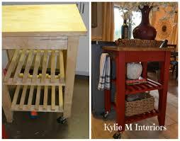 ikea bekvam kitchen island cart makeover with annie sloan chalk