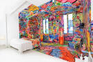 Crazy Walls Color Bedroom Furniture Design Ideas - crazy color ...