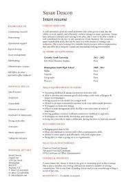 Fabulous Personal Statement Template   Brefash  xttiuu ipnodns ru  Perfect Resume Example Resume And Cover Letter