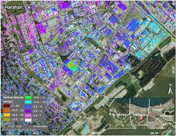 Map New Orleans French Quarter by New Study Maps Rate Of New Orleans Sinking Nasa