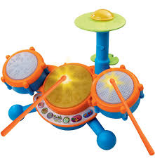 vtech kidibeats kids drum set musical toys for toddlers