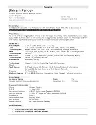 Best Java Developer Resume by Astounding Java 4 Years Experience Resume 88 For Best Resume Font