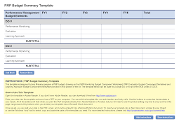 Sample Home Budget Spreadsheet Pmp Budget Template Project Starter U2014 Usaid