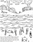 Church House Collection Blog: The 10 Plagues of Egypt Coloring Pages