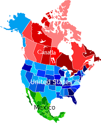 A Map Of America by Show Me A Map Of North America Roundtripticket Me