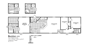 1 Bedroom Modular Homes Floor Plans by Red Tag Clearance Oak Creek Homes