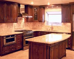 kitchen casual kitchen design with plain wall paint and