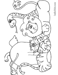 wild animal coloring page more africain animals coloring sheets