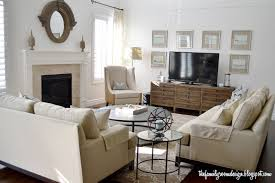 Living Room With Tv by The Family Room I Would Like These Two Couches In A Different