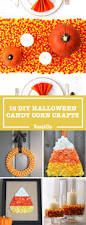 halloween crafts with candy 19 candy corn crafts u0026 decorations for halloween