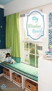 Living Room Bench by Diy Window Bench Window Benches Big Rooms And Toy Storage