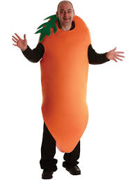 adults big jasper crazy carrot giant food vegetable fancy dress