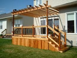 Deck Pergola Ideas by Resin Material Pergola Ideas For Deck 2456 Hostelgarden Net