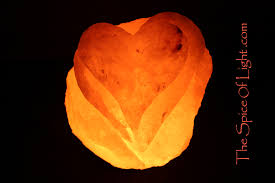 Himalayan Salt Light loving heart himalayan salt lamp sculpture u2013 the spice of light