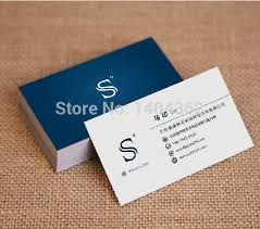Calling Business Cards Aliexpress Com Buy Free Design Custom Business Cards Business