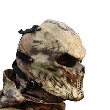 ghost face mask military amazon com typhoon camouflage hunting accessories masks ghost