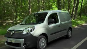 new renault kangoo van z e 33 driving video youtube