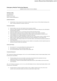 Sample Caregiver Resume No Experience by Emt B Resume Sample Emt Resume Samples Resume Cv Cover Letter