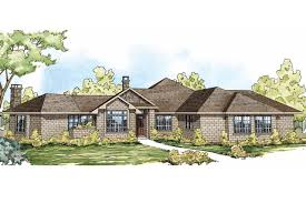 Single Story House Styles Ranch House Plans Hillcrest 10 557 Associated Designs
