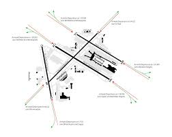 Map Of Detroit Metro Airport by Msp Runway Closure Diagram Gif