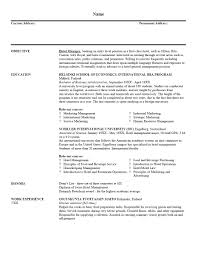Best Resume Job by Good Resume Example