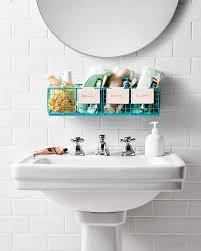 How To Choose A Bathroom Vanity by Bathroom Organization Tips Martha Stewart