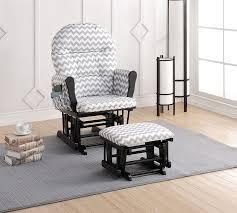 Rocking Chairs At Walmart Amazon Com Naomi Home Brisbane Glider U0026 Ottoman Set With Cushion