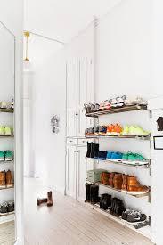 Kitchen Wall Organization Ideas Best 25 Wall Mounted Shoe Rack Ideas On Pinterest Wall Shoe