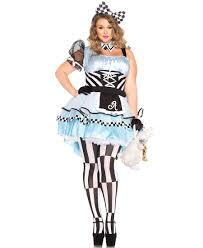plus size psychedelic alice halloween costume leg avenue 85225x