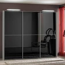 Sliding Door Wardrobe Designs For Bedroom Indian Engaging Black Glass Sliding Door Wardrobe Design Ideas Along With