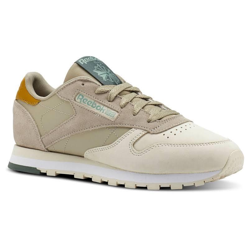 Reebok Classic Leather Gray Fashion Sneaker