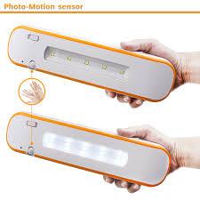 battery powered motion sensor led under cabinet light torchstar